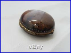 Pocket Watch Horn Outer Case For Ottoman Turkish Or Verge Fusee Watches
