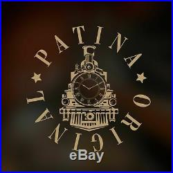 Pre-Order Watches for men skeleton Omega pocket watch in art deco case and dial