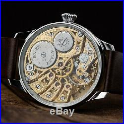 Pre-Order rare exclusive skeleton Rolex pocket watch in art deco case and dial
