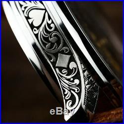 Pre-Order watch skeleton Rolex men vintage pocket watch in artdeco case and dial