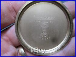 RARE ILLINOIS 23J BUNN SPECIAL 60 HOUR RUNNING ORIGINAL CASE Pocket Watch MINTY
