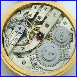 Rare Big Swiss ANTIQUE Wristwatch APOGEE Gilt Case