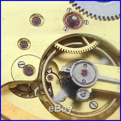 Rare Big Swiss ANTIQUE Wristwatch Systeme Glashutte Gilt Case
