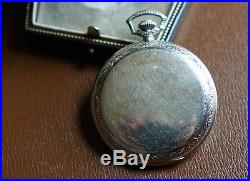 Rare Dudley Masonic Pocket Watch Series 1 with original case and documentation
