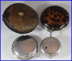 Rare Quadruple Cased Verge Fusee Edward Prior Turkish Market Pocket Watch c. 1818