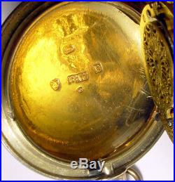 Samuel Thorp Verge Fusee Unusual Case Circa 1810 Pocket Watch
