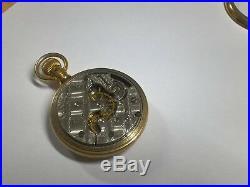 Scarce 18s Trenton Convertible Model 3 Grade 40 Display Case Pocket Watch