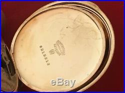 Very Nice 1901 Elgin 7 Jewel 12 Size Hunting Case Pocket Watch Running