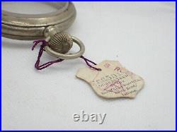 Vintage 16 size Salesman Sample Pocket watch case tagged South Bend used # 6