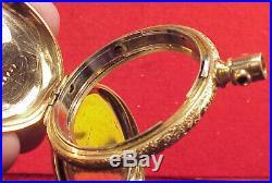 Vintage 1872 MODEL WALTHAM GOLD FILLED ORIGINAL CASE POCKET WATCH 17 SIZE MODEL