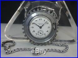 Vintage 1936 CITIZEN mechanical pocket watch Opera Chronometer Rare case