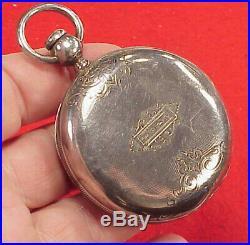 Vintage #2 18 Size Eagle Mark CIVIL War G. G. & Co Coin Pocket Watch Case