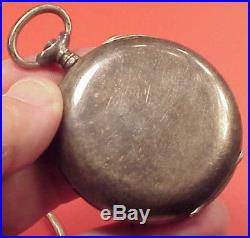 Vintage 50MM SILVER HUNTING REPEATER CASE High Grade 45MM MVT Pocket Watch