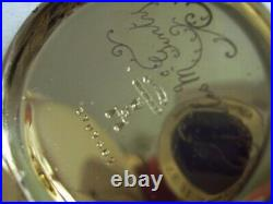 Vintage Victorian Elgin 14 Ct Hunter Pocket Watch, Working Lovely Engraved Case