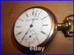 Vtg. 1900 Illinois Watch Co. Pocket Watch/ 17 Jewel/Phila Watch Co. GF Case