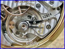 Vtg Hamilton 950b Pocket Watch With Bakelite Case & Box In Exc Condition