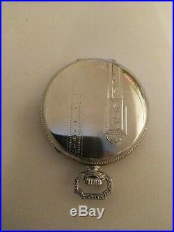 Waltham 12S. ART DECO 17 jewels fancy dial (1924) 14K Gold Filled case