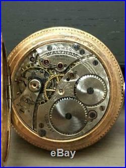 Waltham Hunter Case Pocket Watch 15 Stones