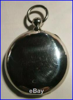 Waltham P. S. Bartlett 11 jewels key wind (1886) model 1877 silveroid case