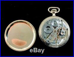 Waltham Vanguard 16 Size 19 Jewel Fancy Colored Dial and Hands Case Extra Fine