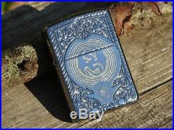Zippo Lighter Anne Stokes Dragon Pocket Watch Wyvern Armor Case 28962